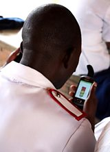 Using mobile and wireless technologies to achieve health objectives