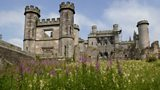 The ruins of Lowther Castle
