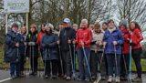The Nottingham Ninjas Nordic walking group
