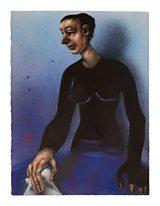 Judas's Wife painting by Chris Gollon