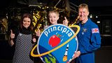 Tim Peake and his Principia mission badge