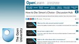 Have your say with The Open University