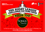 Enter the Rugby League Challenge Cup Fans Choir Competition 2016