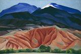 Georgia O'Keeffe - Black Mesa Landscape, New Mexico