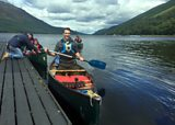 Diamond Canoeing on Loch Lochy