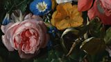 A Flower Painting by Rachel Ruysch