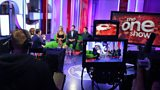 The One Show studio from behind the cameras