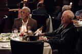 Michael Caine and Morgan Freeman