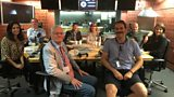 Presenters and Guests in studio - 15th July 2017
