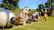 Shaun The Sheep Championsheeps - 100 Metre Dash