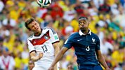 Match Of The Day Live - 2014 Fifa World Cup - Quarter-final: France V Germany