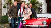 Celebrity Antiques Road Trip - Series 4 - Phil Hammond And Maria Mcerlane