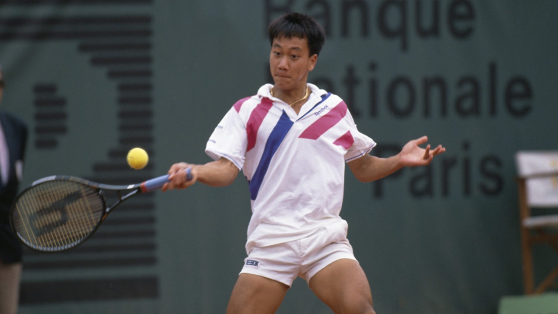 BBC World Service Sporting Witness Michael Chang wins the