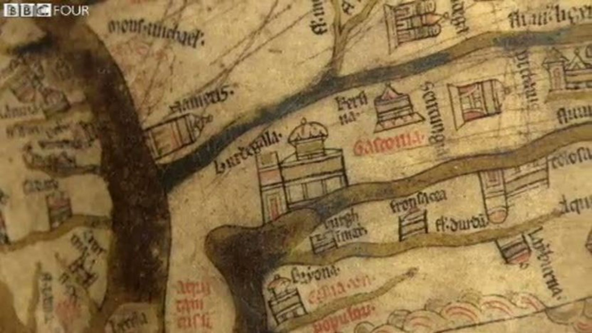 bbc four the beauty of maps medieval maps mapping the