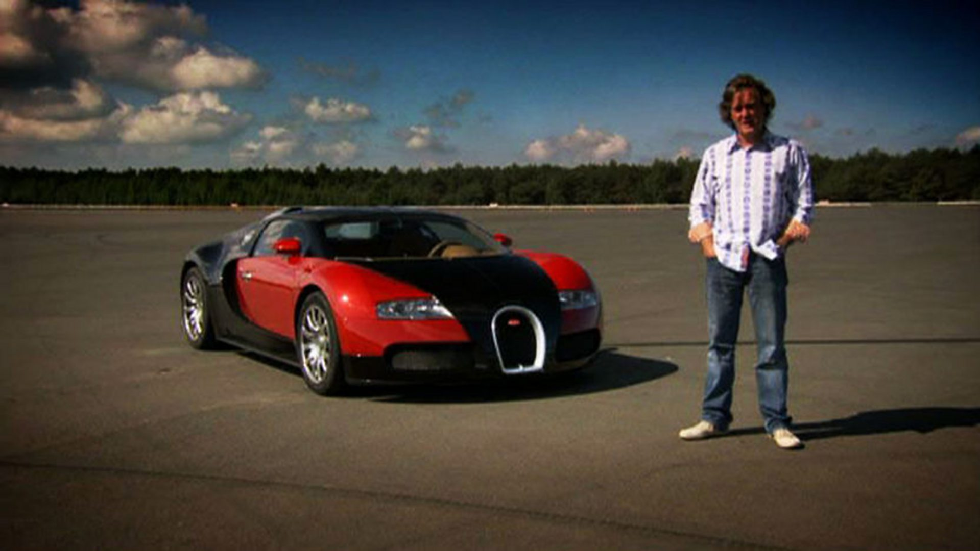 BBC Two - Top Gear, Series 15, Episode 5, Bugatti Veyron SS