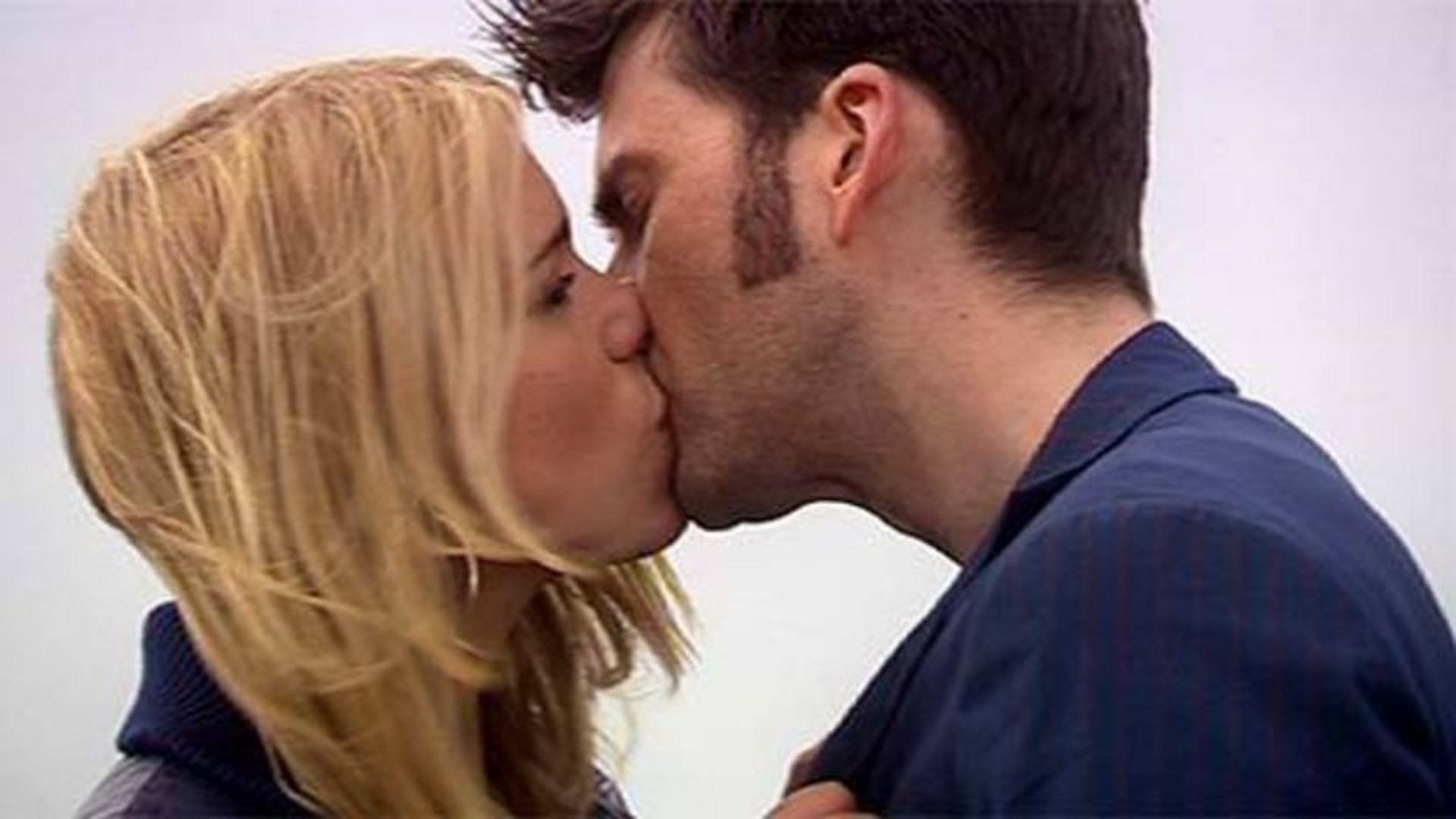 Image result for Tenth Doctor kisses Rose