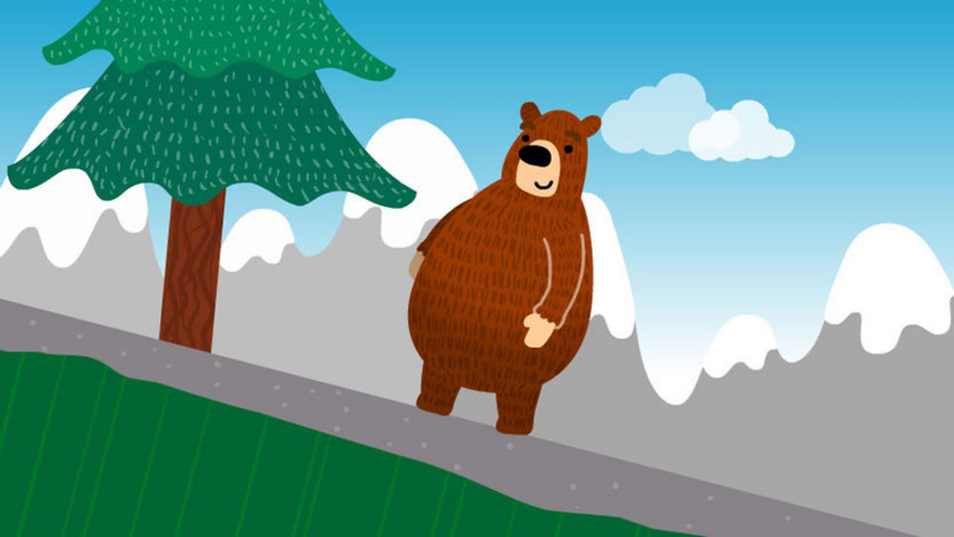 BBC - School Radio - Listen and Play, The Bear went over the Mountain