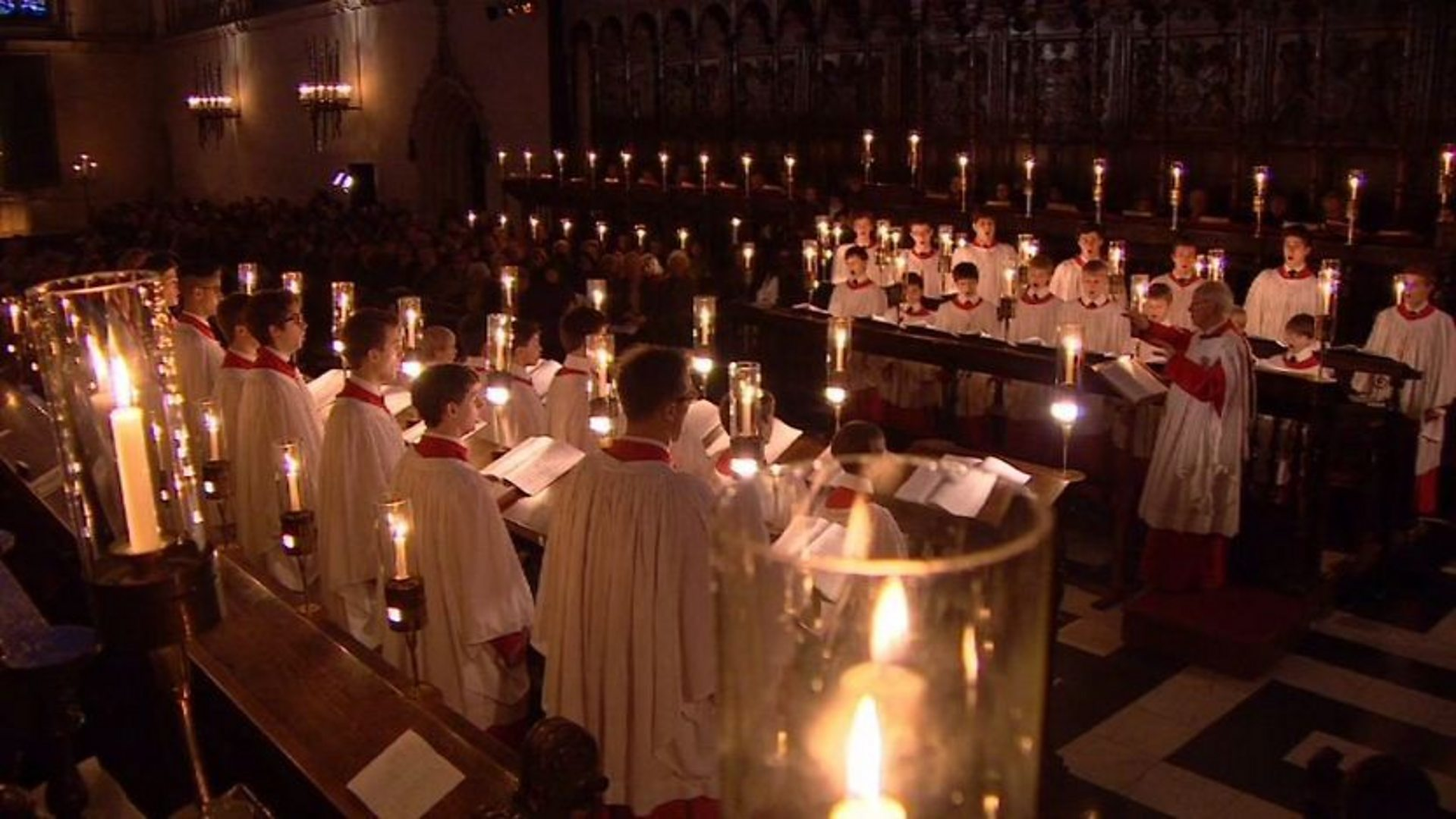 BBC Two - Carols from King's, 24/12/2012