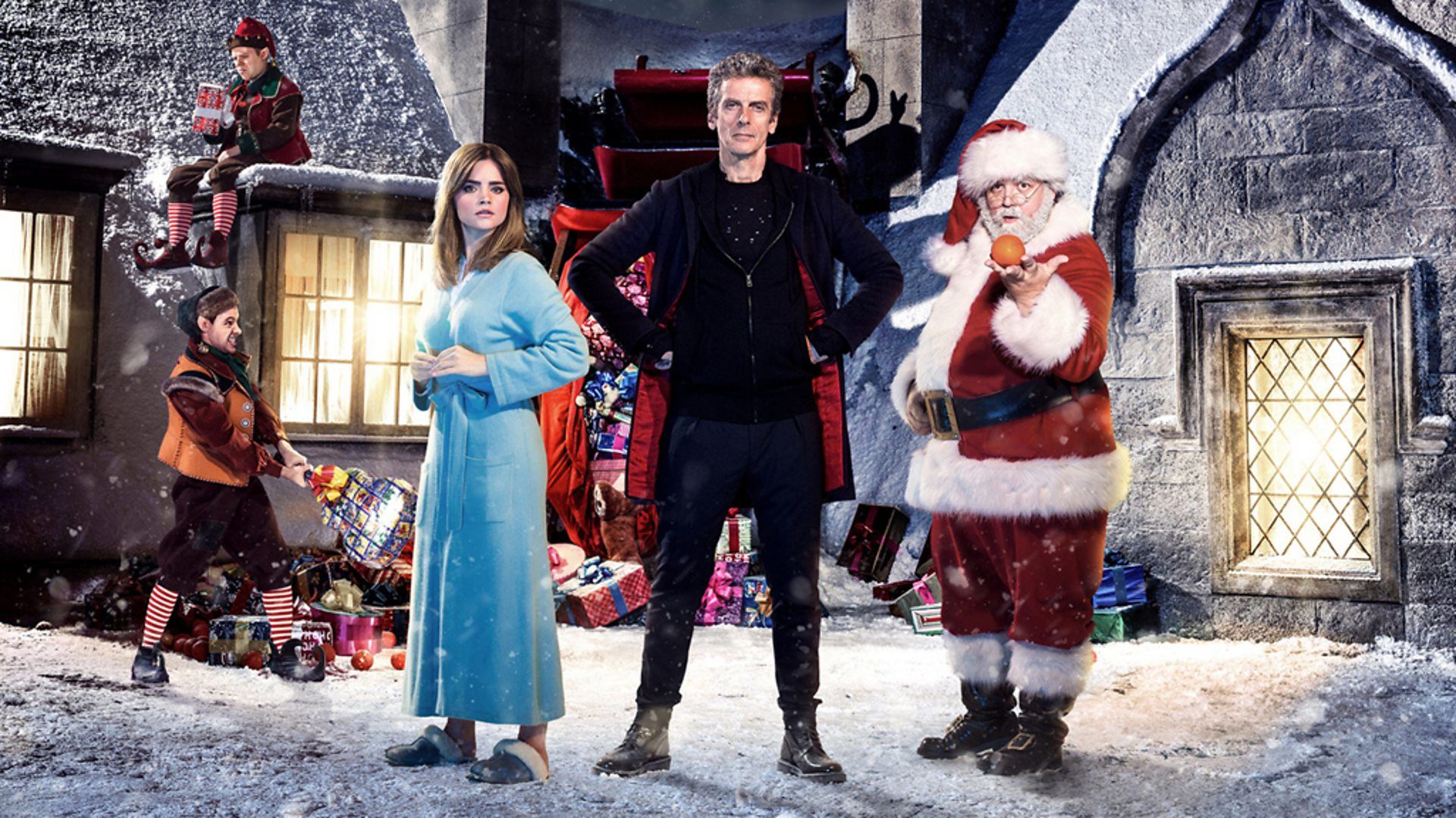 Doctor Who Christmas Specials.Bbc One Doctor Who Last Christmas The Doctor Who