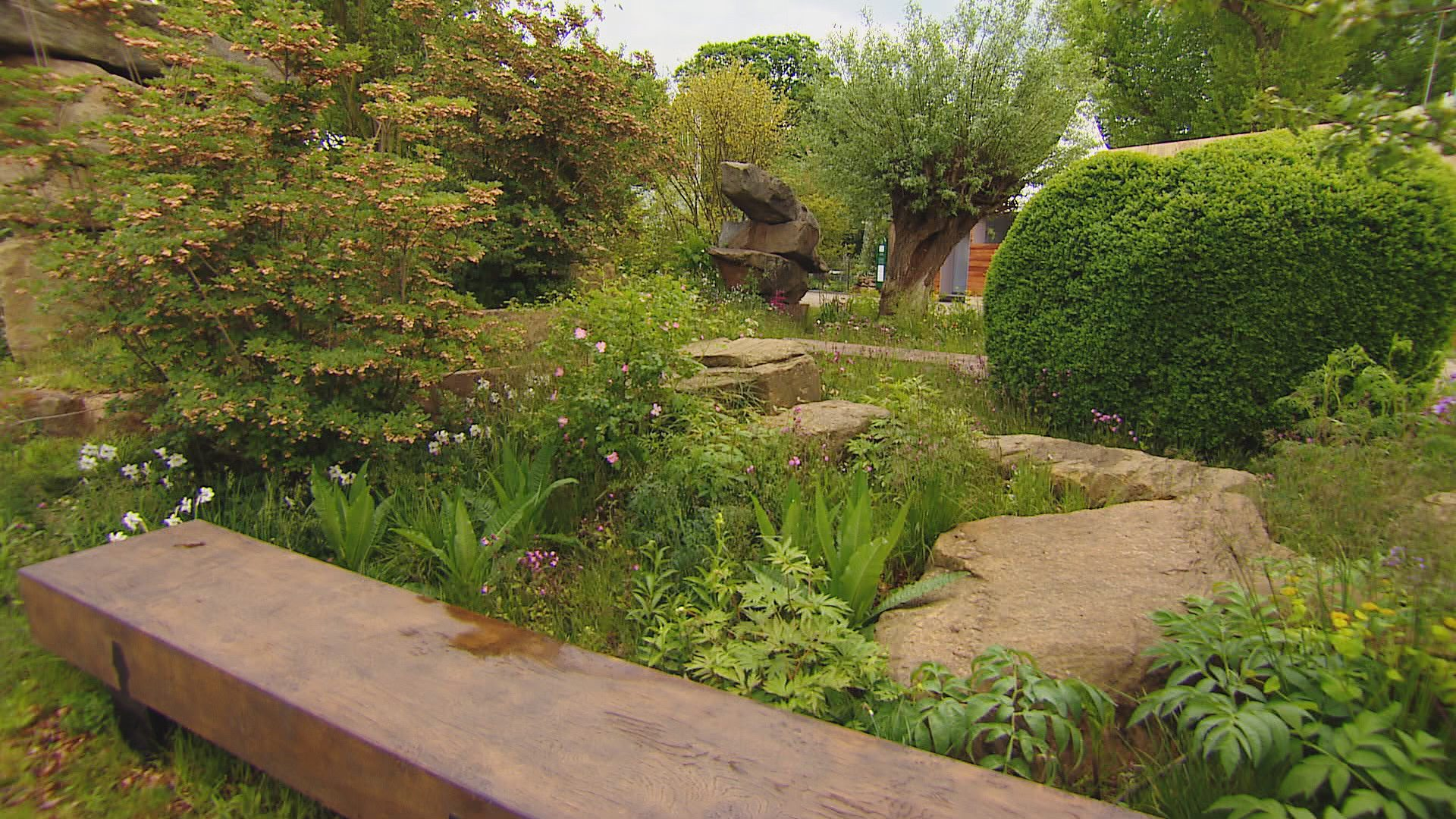 bbc two rhs chelsea flower show the laurent perrier chatsworth