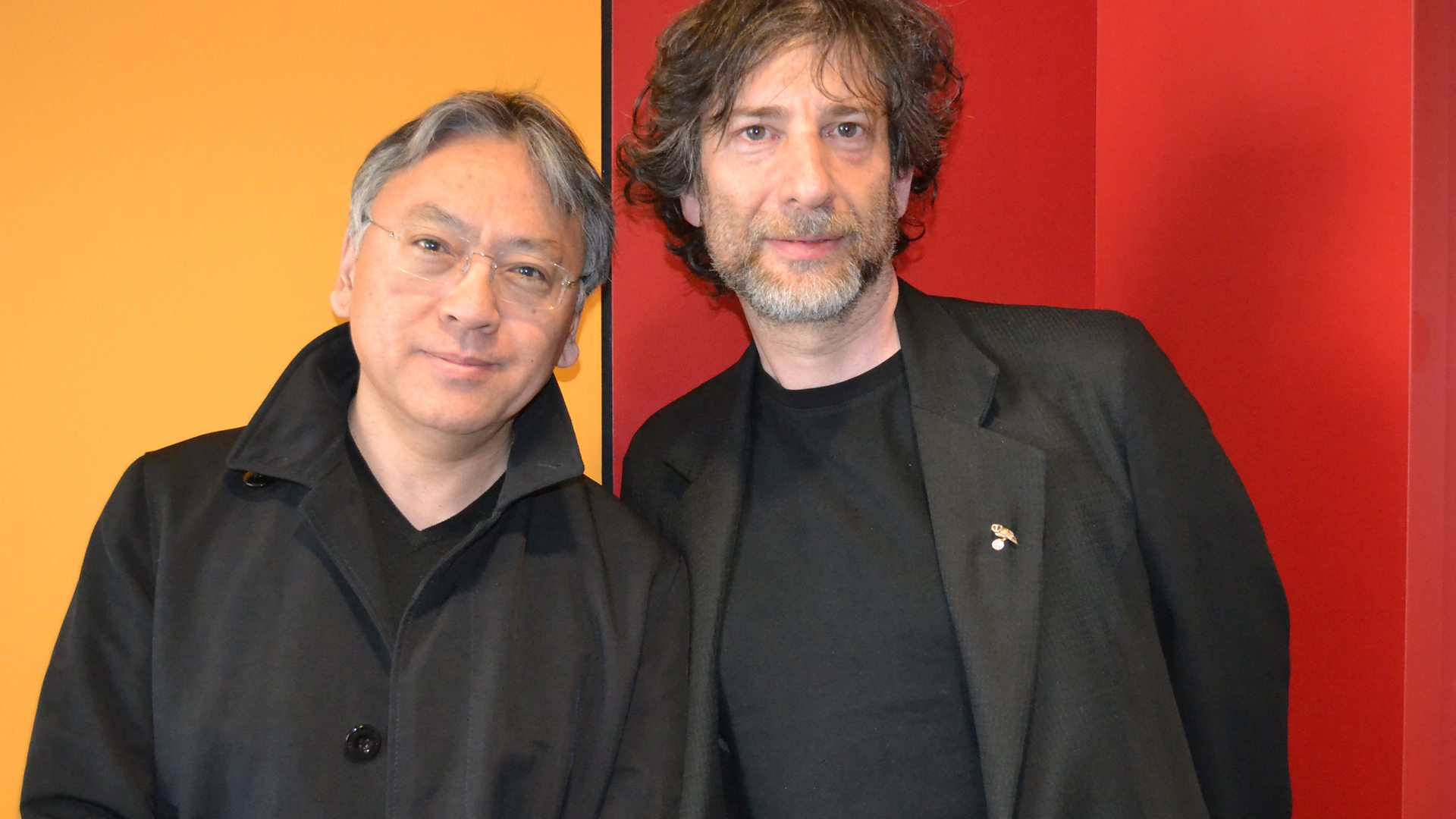 2015, Novelists Kazuo Ishiguro And Neil Gaiman  Debate