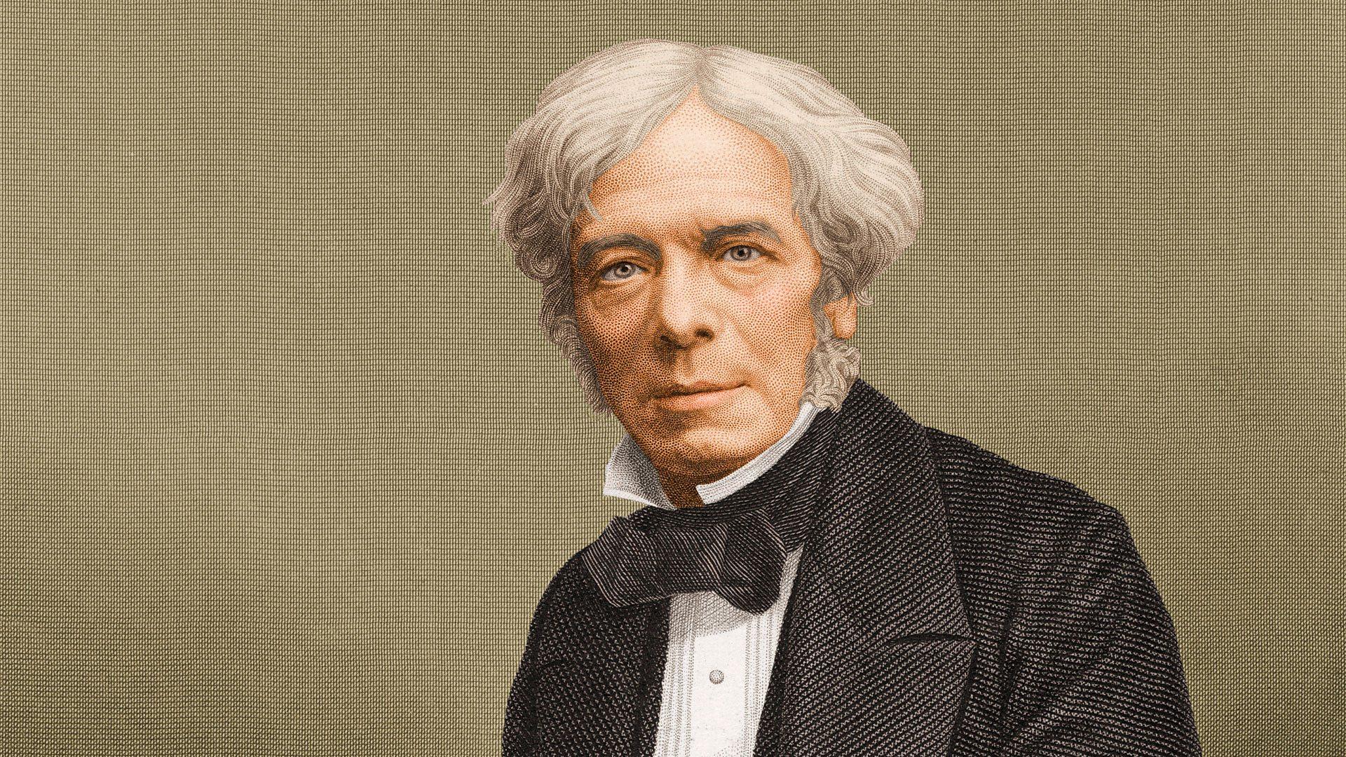 نتيجة بحث الصور عن michael faraday
