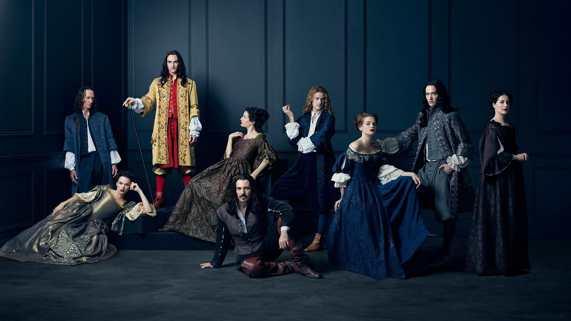 BBC Two - Versailles, Series 1 - Versailles - a guide to its