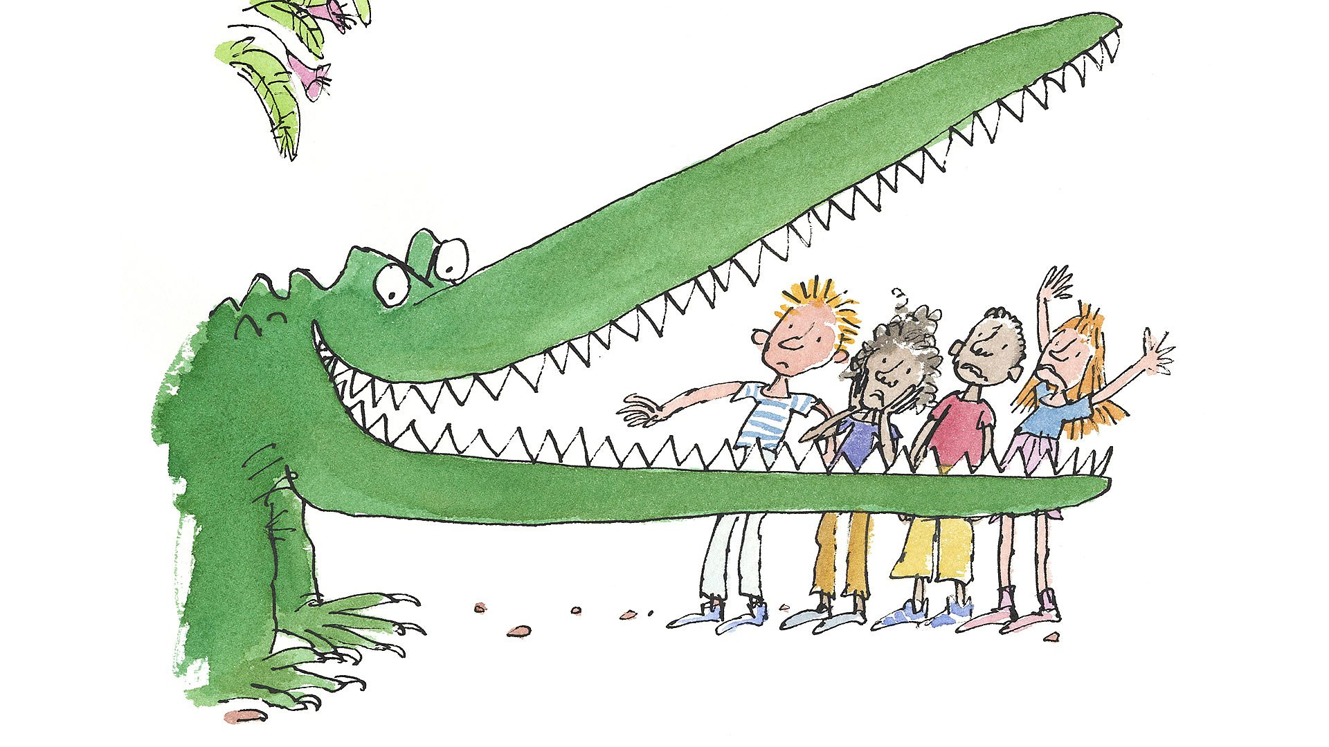 BBC - Quentin Blake on working with a big friendly giant