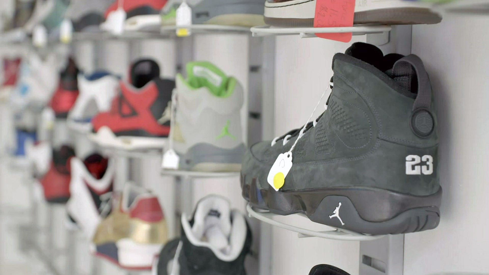 Where rare second-hand trainers can