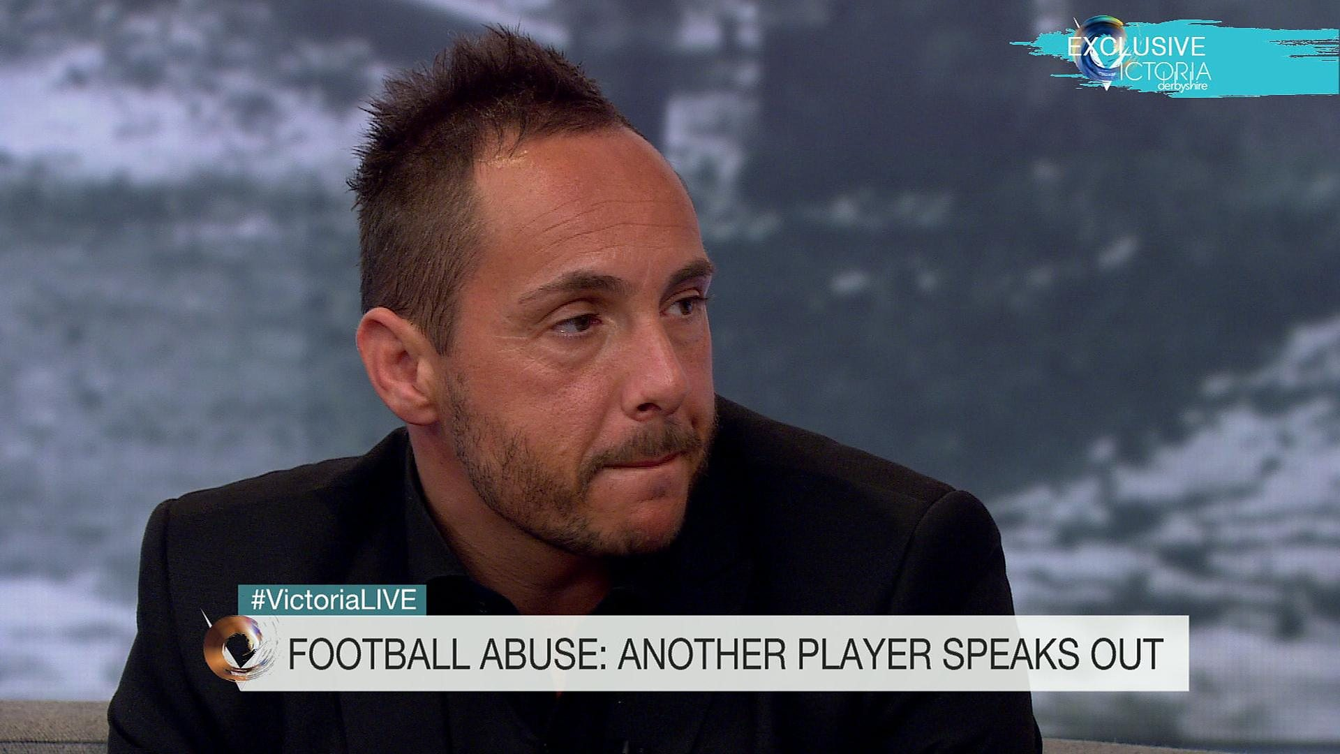 18And Abused Stunning bbc two - victoria derbyshire, ex-footballer: 'abuse turned my