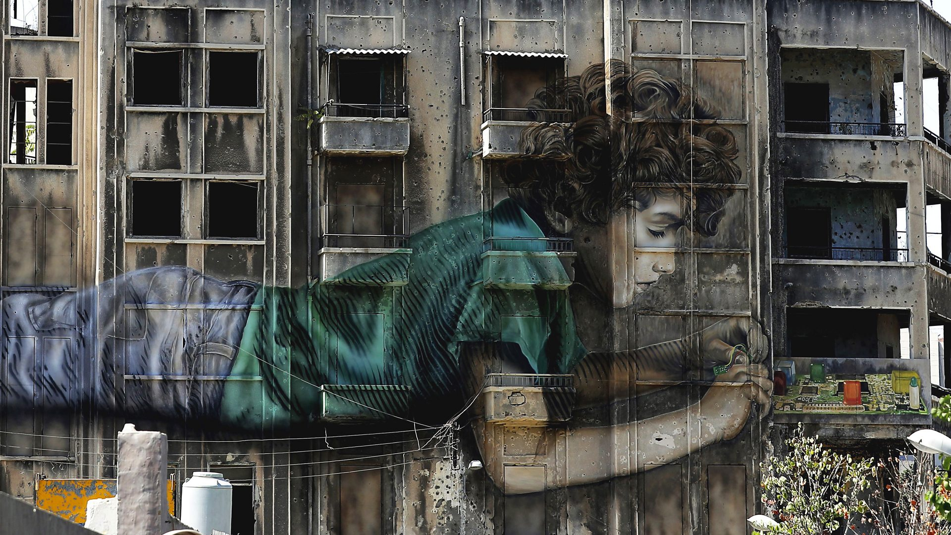 BBC Arts - BBC Arts - How art is helping Beirut recover from the