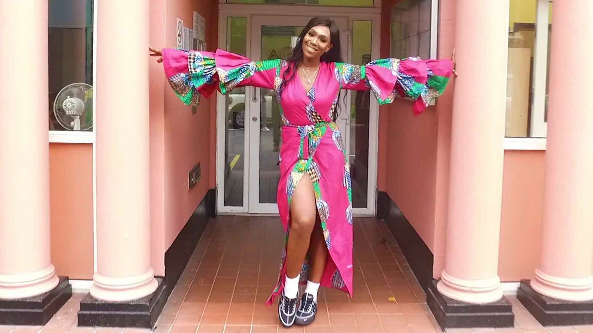 Lagos Fashion Week Designer Irene Agbontaen S Clothes For Tall Women Bbc News