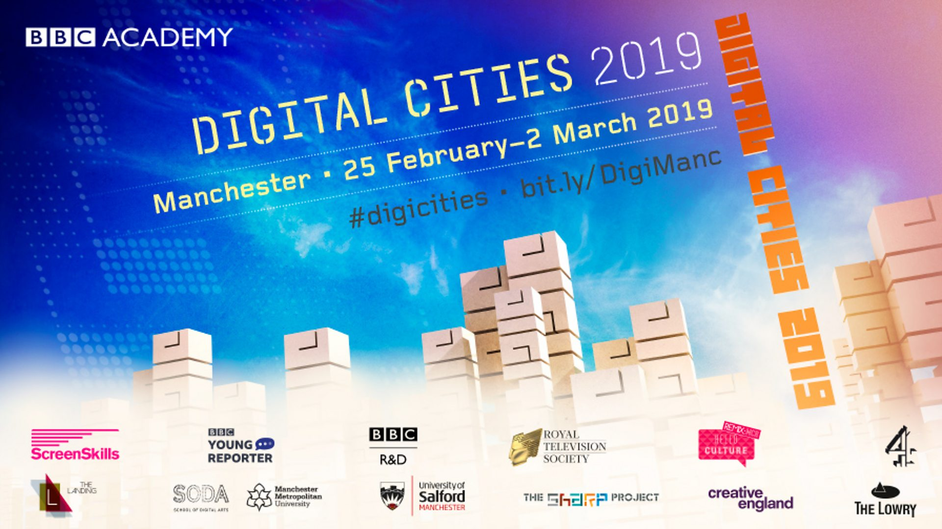 Digital Cities Manchester: 25 February to 2 March 2019 - BBC Academy