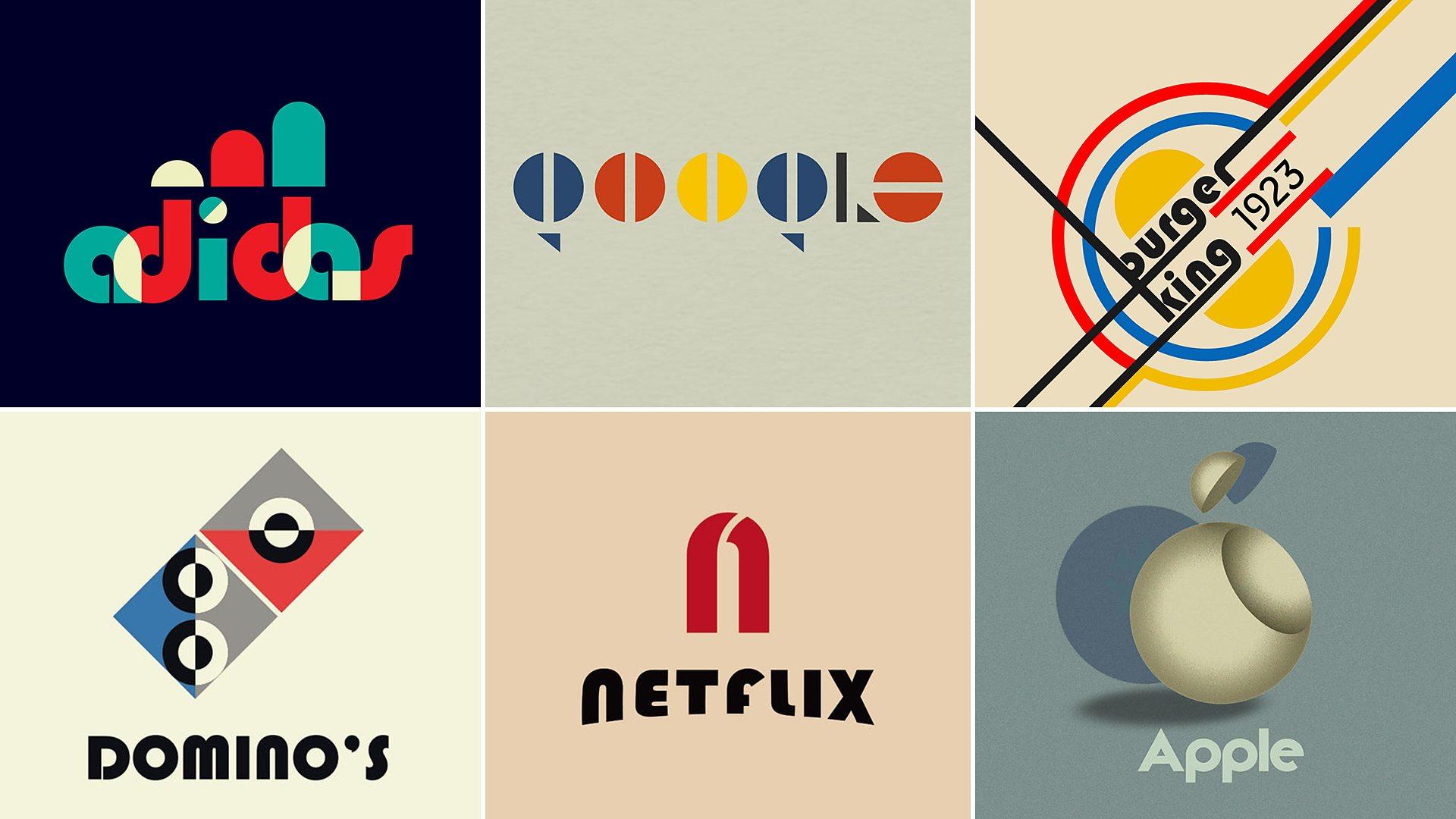 BBC Arts - BBC Arts - 'Haus work: Famous logos redesigned to mark Bauhaus centenary