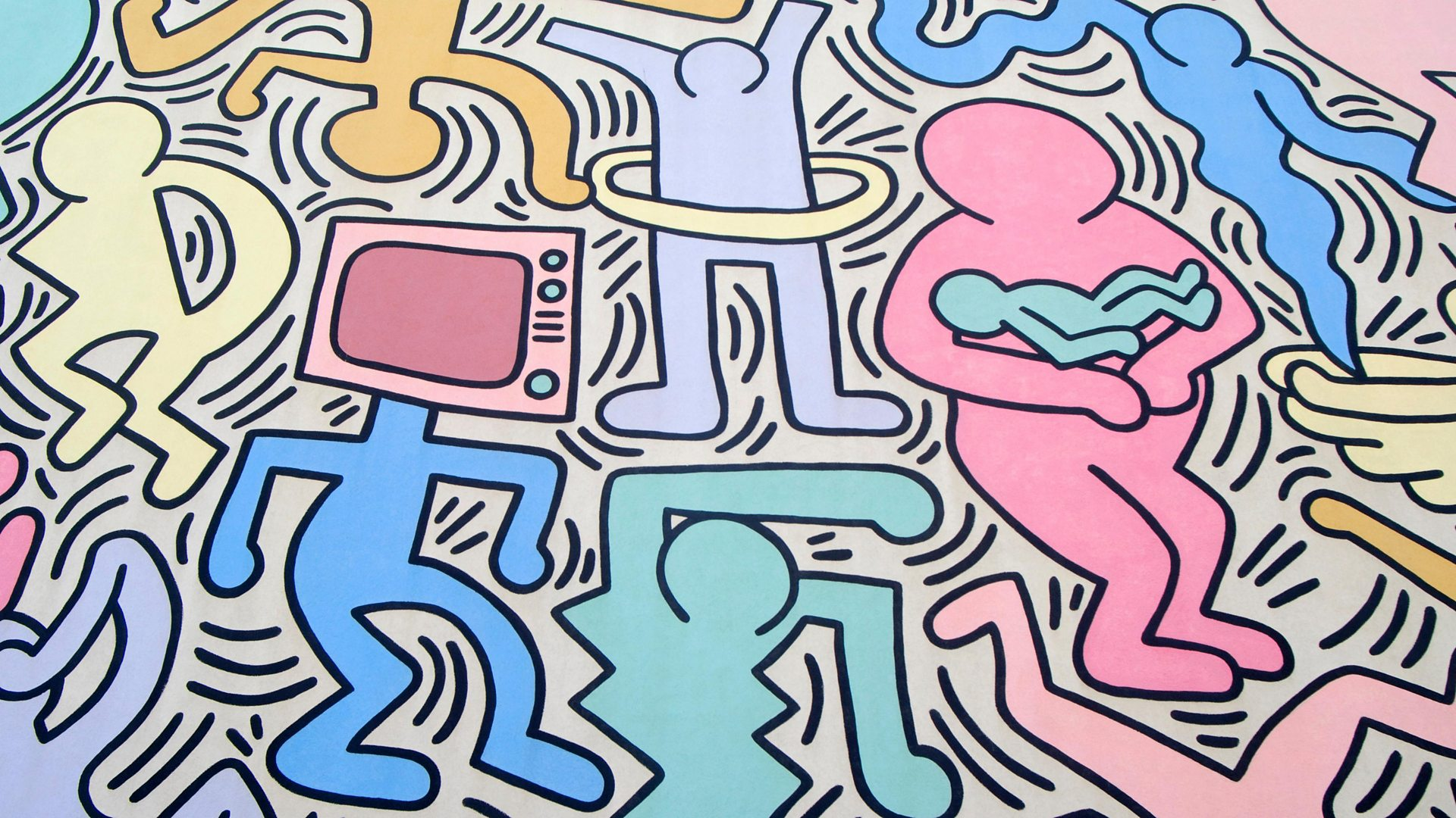 Bbc Arts Bbc Arts Streetwise Art How Keith Haring Made