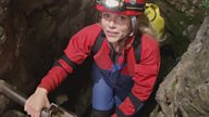 What happened when this claustrophobic presenter went caving for Secret Britain?
