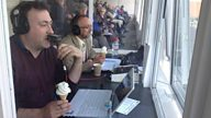 County cricket reporters: A special breed