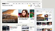 BBC Homepage on mobile: update