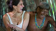 Bonding with the villagers through laughter and rituals for Tribes, Predators & Me