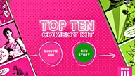 BBC Three launches new Top Ten Comedy Kit