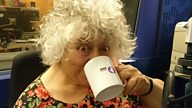 "Miriam Margolyes' Adventures in Radio: ""on radio….you can be anyone…."""