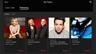 BBC iPlayer Radio introduces new 'My Radio' features