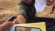 Lifeline radio for displaced Iraqis