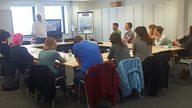 Writersroom Wales - Inside the 'It's My Shout' Workshop