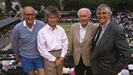 Wimbledon: Players, pundits and personalities
