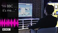 BBC experiments with voiceprints