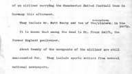 News flashback 1958: The Munich air disaster