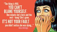 Quote of the week: Alice speaks out of turn...