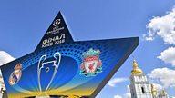 Ffeinal Cynghrair y Pencampwyr - Real Madrid v Lerpwl