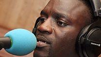 Akon Live Lounge
